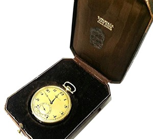 Tiffany & Co. Tiffany & Co Vintage 18 K Gold Pocket Watch