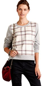 Anthropologie Cropped Warm Soft Sweatshirt