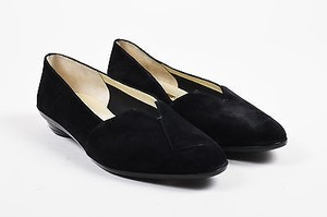 Salvatore Ferragamo Limited Black Flats
