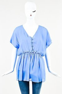 Alice + Olivia Nwt Periwinkle Top Blue