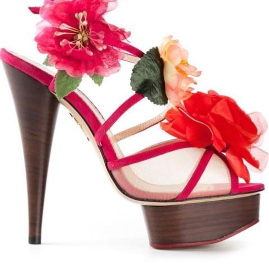 Charlotte Olympia Pink Sandals Image 2