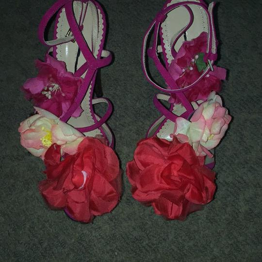 Charlotte Olympia Pink Sandals Image 3
