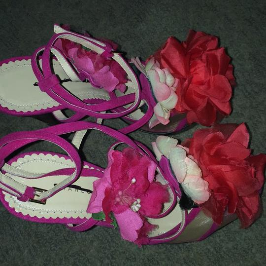 Charlotte Olympia Pink Sandals Image 5