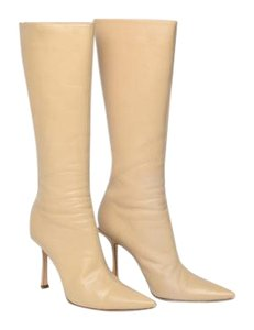 Jimmy Choo Cream Boots