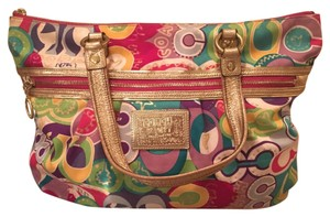 Coach Tote in Rainbow