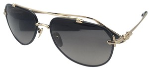 952a1b9f40d4 Chrome Hearts CHROME HEARTS Sunglasses SPINNER BK GP Black   Gold w Grey  Fade
