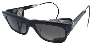 Chrome Hearts CHROME HEARTS Sunglasses PUNKASS I BK Black & Silver w/ Side Shields