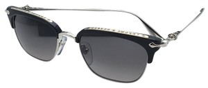 Chrome Hearts CHROME HEARTS Sunglasses SLUNTRADICTION BK/SS-S Black & Silver w/Grey