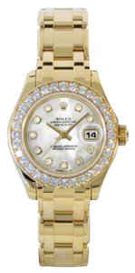 Rolex Rolex Datejust Pearlmaster Yellow Gold White Dial 29mm 80298.74948 WD