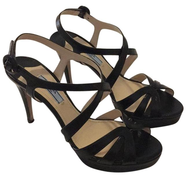 Prada Nero - Black Calzature Donna Platforms Size US 7 Regular (M, B) Prada Nero - Black Calzature Donna Platforms Size US 7 Regular (M, B) Image 1