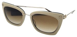 Chrome Hearts CHROME HEARTS Sunglasses BETTY LOU II TB/GP Tan-Black & Gold w/ Brown