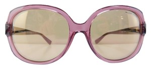 Michael Kors New MK 6017 3053R1 Isle of Skye Pink Tortoise Acetate Reflective 58mm