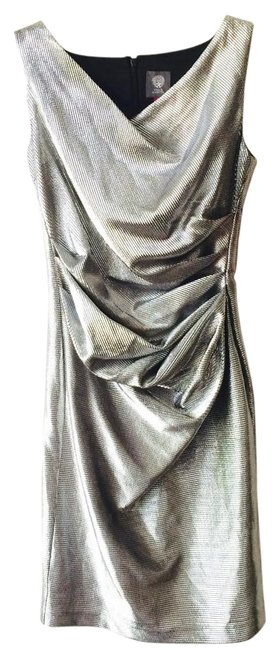 Vince Camuto Chrome Above Knee Cocktail Dress Size 6 (S) Vince Camuto Chrome Above Knee Cocktail Dress Size 6 (S) Image 1
