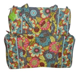 Vera Bradley Flower Shower Travel Bag