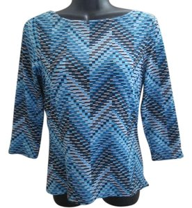 The Limited Zigzag Chevron Stretchy Top Multicolored