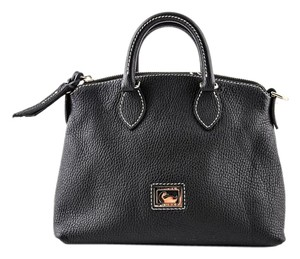 Dooney & Bourke Dillen Satchel in BLACK