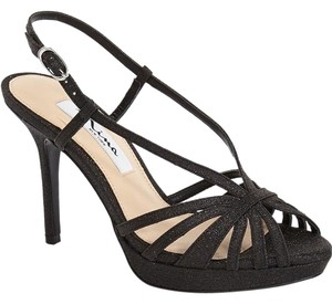 Nina Shoes Strappy Platform Choo Black Wonderland Sandals