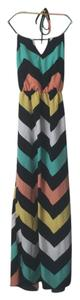 Chevron print Maxi Dress by Charlotte Russe
