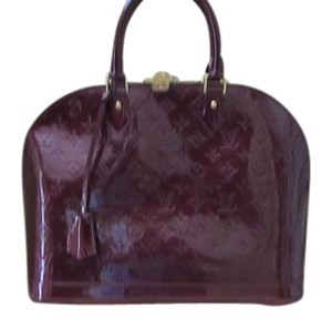 Louis Vuitton Satchel in VERNIS