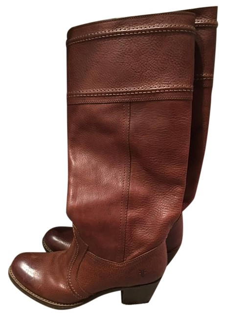 Frye Brown Jane 14l Boots/Booties Size US 6.5 Regular (M, B) Frye Brown Jane 14l Boots/Booties Size US 6.5 Regular (M, B) Image 1