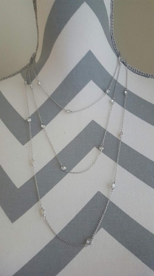 Other Dainty Layered Stone Bar Necklace Image 3