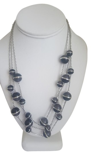 Preload https://img-static.tradesy.com/item/18896587/coldwater-creek-black-and-silver-sphere-multi-strand-necklace-0-1-540-540.jpg
