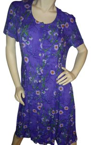 JBS Limited Floral Mother Of Pearl Work Or Party Like New Dress