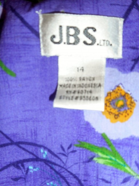 JBS Limited Floral Mother Of Pearl Or Party Like New Dress Image 4
