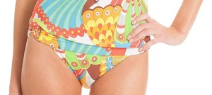 Trina Turk TT4DG93 SANTA CRUZ BUCKLE SIDE HIPSTER BIKINI BOTTOM