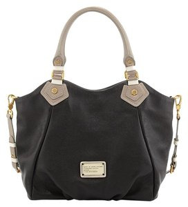 Marc by Marc Jacobs Classic Q -fran Colorblock Leather Shoulder Bag