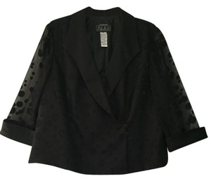 Alex Evenings Black Blazer
