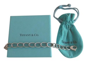 Tiffany & Co. TIFFANY & CO. DOUBLE OVAL LINK BRACELET W/BOX AND POUCH