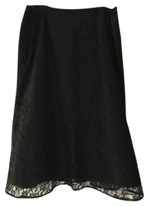Jones New York Lace Skirt Black