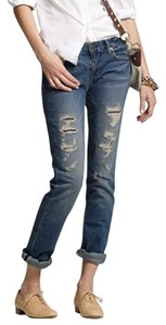 J.Crew Vintage Straight Leg Jeans-Distressed