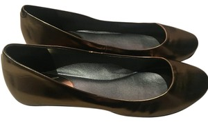 Cole Haan Muted Gold Flats