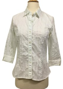 Doncaster Button Down Shirt White