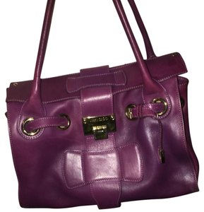 Jimmy Choo Satchel in Purple
