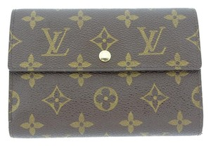 Louis Vuitton Louis Vuitton Monogram Porte Tresor Etui Papiers Wallet M61202
