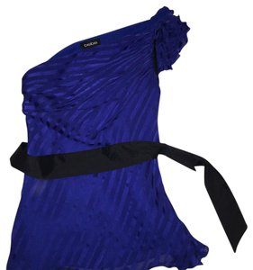 bebe Top Royal blue, black