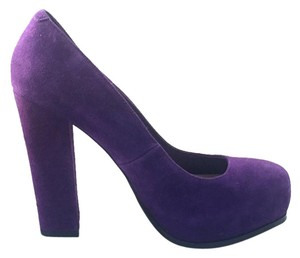 Steve Madden Dark Purple Pumps