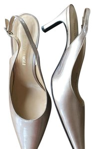 Bruno Magli Gold Pumps