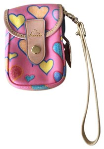 Dooney & Bourke Dooney & Bourke Pink Wristlet Phone Case