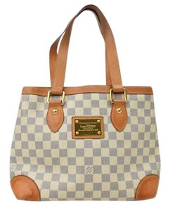 Louis Vuitton Hampstead Azur Tote Satchel
