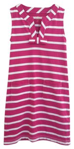 Kate Spade short dress Bright Pink White on Tradesy