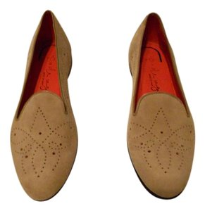 Pas de Rouge Detail Design Great Neutral Color Made In Italy Beige Flats
