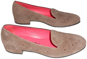 Pas de Rouge Detail Design Great Neutral Color Made In Italy Brown Flats