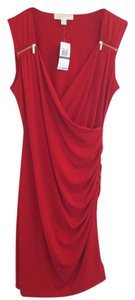 Michael Kors short dress Red on Tradesy
