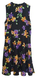 Ralph Lauren Collection short dress Black Purple Orange on Tradesy