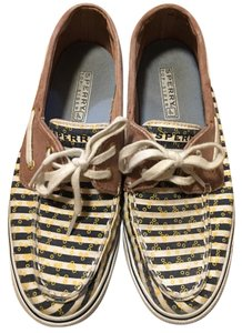 Sperry Navy Stripes Flats