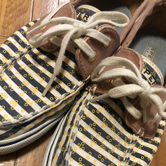 Sperry Navy Stripes Flats Image 2